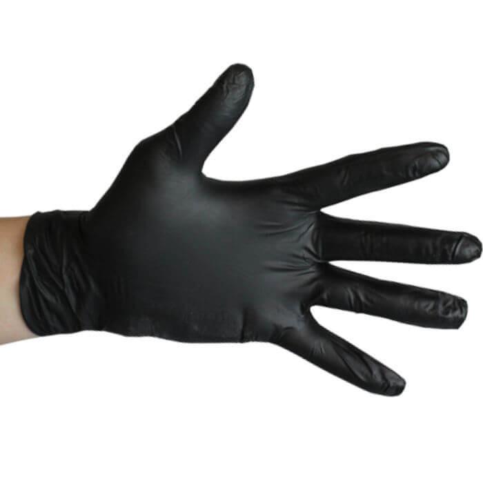 Einweghandschuhe Nitrile Black 100er Pack