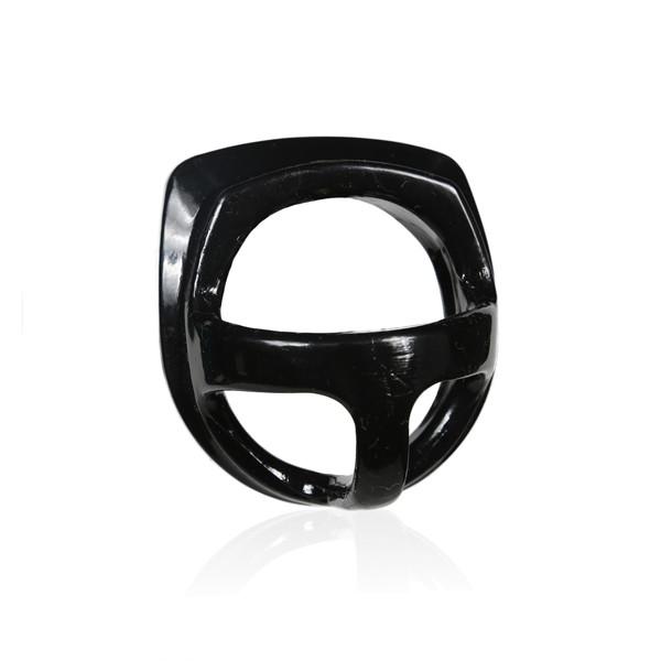 Perfect Fit ARMOUR Split - Cockring & Hodenteiler black